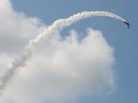 Выступление в рамках программы легенды мировой авиации