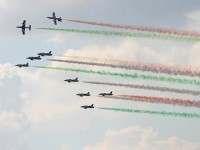 Пилотажная группа Фречче Триколори Италия
