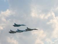 Стройные ряды пилотов СУ-27 из Липецка