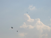 Имитация воздушного боя на СУ-27
