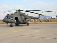 Наземная экспозиция вертолетов
