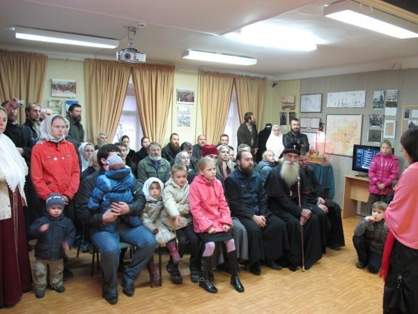 Лекция об истории старообрядчества в лыткаринском музее