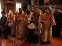 Во время торжественного богослужения