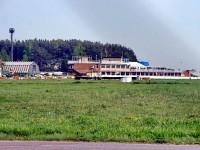 Автодром в Верхнем Мячково - часть территории аэродрома