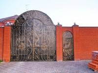 Красивый забор в Андреевском