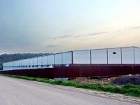 Новый склад на дороге в Андреевское