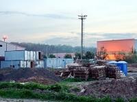 Рабочий городок у нового склада у Андреевского