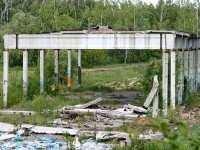 Заброшенное хозяйственное сооружение
