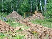 Строительство газопровода в Софьинском поселении