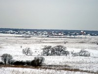 Вид от Зеленой Слободы на Редькино и Щеголево