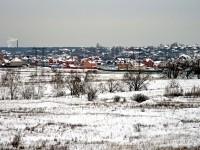Вид от Зеленой Слободы на Нижнее Мячково