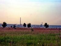 Вид с полей совхоза Тельмана на Тураево