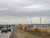Строительство подъездов к АЗС - октябрь 2013