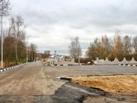 Начало асфальтовой дороги - октябрь 2013