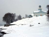 Ресторан на берегу Москва-реки - декабрь 2013