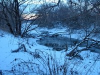 Протока Москва-реки в пос Тельмана