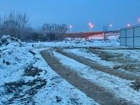 Дорога по берегу Москва-реки