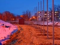 Вдоль Новорязанского шоссе устанавливается забор