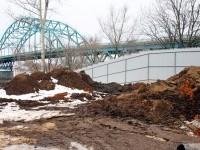 Забор вдоль Новорязанского шоссе - март 2013