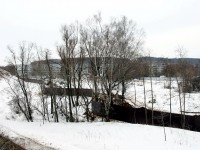 Территория стройки - несколько гектар - март 2013