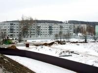 Территория стройки и дома поселка Тельмана - март 2013