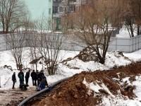 Бригада гастарбайтеров на стройке - март 2013