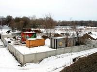Вид на территорию канализационно-напорной станции