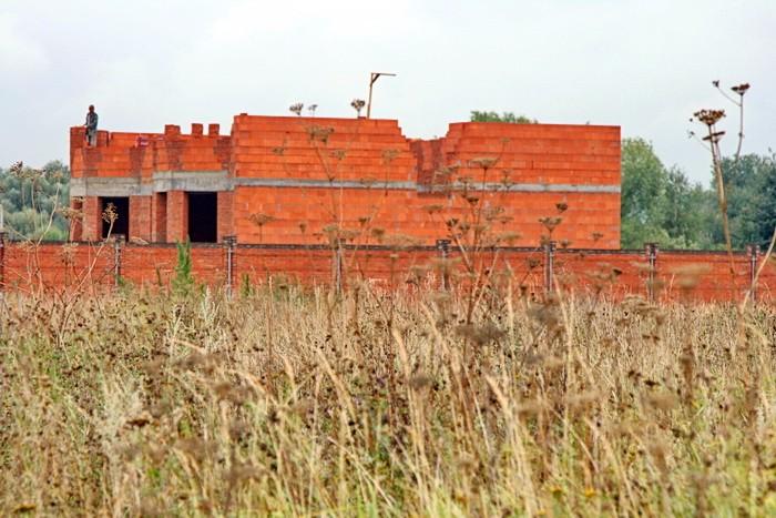 Незаконное строительство гражданина Васина