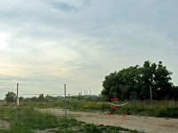 Титово - перекрытая дорога на берегу - лето 2011
