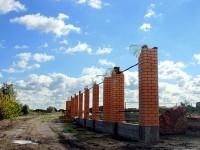 Новый забор на берегу Титово