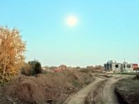 Земляные работы на берегу Москва-реки