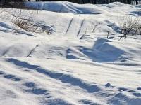 Снег на Боровском Кургане