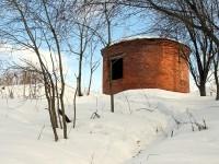 Промышленное сооружение на берегу Москва-реки