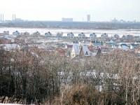 Вид на Белый берег с кургана