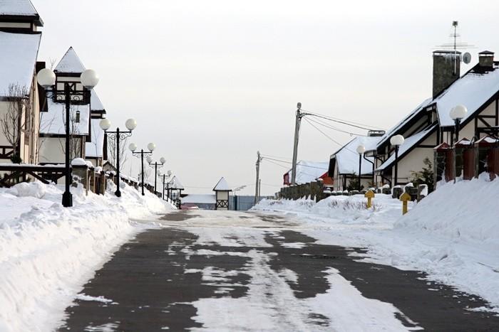 Главная улица в Чулково Клаб - улица Заречная