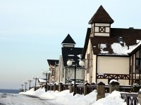 Зима на Заречной улице