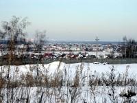 Вид с окраины Чулково Клаб на долину Москва-реки