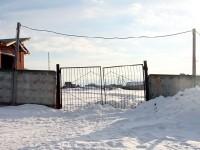 Запасной въезд со стороны поселка Кутузовские Холмы