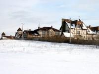 Вид на Чулково клаб со стороны поселка Кутузовские Холмы