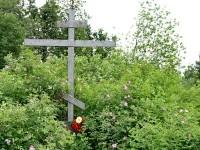 Памятный крест старообрядческого храма