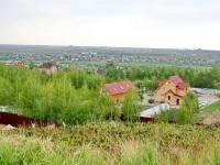 Вид с высшей точки Чулково в сторону Жуковского