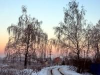 Улица Школьная. Зима 2012.