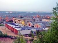 Промышленная зона на окраине Чулково