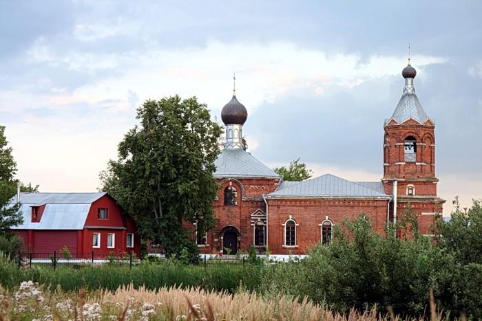 Храм Покрова Божией Матери в д. Еганово