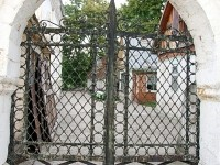 Ворота - Церковь Покрова Пресвятой Богородицы в Зелёной Слободе