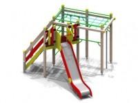 Детский игровой комплекс Н г.=1,5 (нерж.) 5318