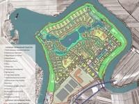 Эскиз проекта планировки первой очереди Национального центра авиастроения — инвестиционного комплекса  площадью 380 га