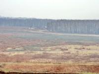 Вид на долину с киногородком у Редькино