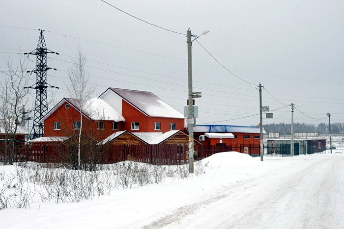 На окраине Еганово - рядом в Володарским шоссе