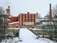 Вид от Малой Володарки на корпуса ткацкой фабрики